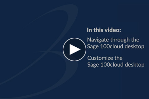 Introduction to Sage 100cloud - Part 1
